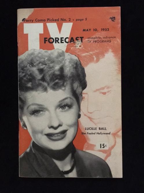TV Forecast 1952