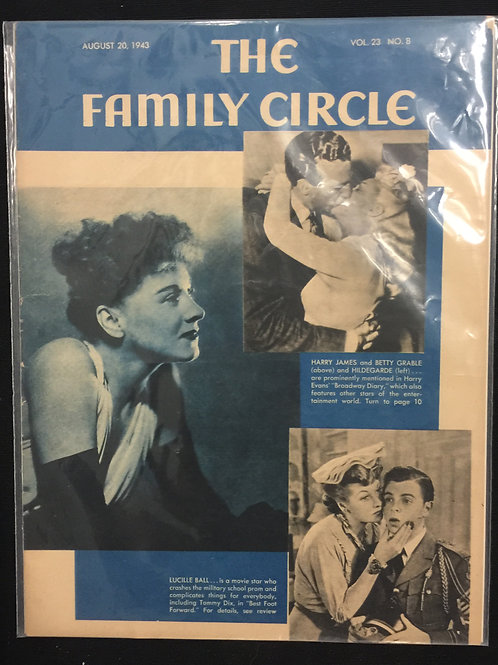 """The Family Circle Magazine 1943"