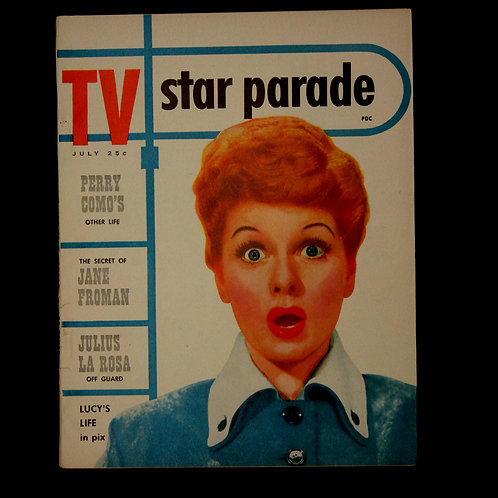 Lucille Ball cover of TV Star Parade 1953