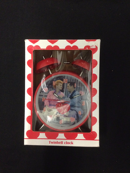I Love Lucy Twinbell Alarm Clock