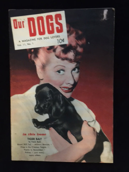 """""""Our Dogs"""" Magazine"""