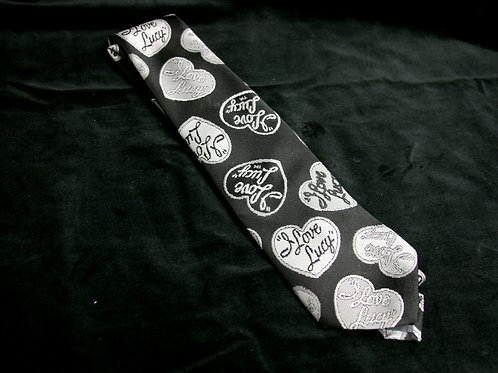 I Love Lucy Black and White Tie