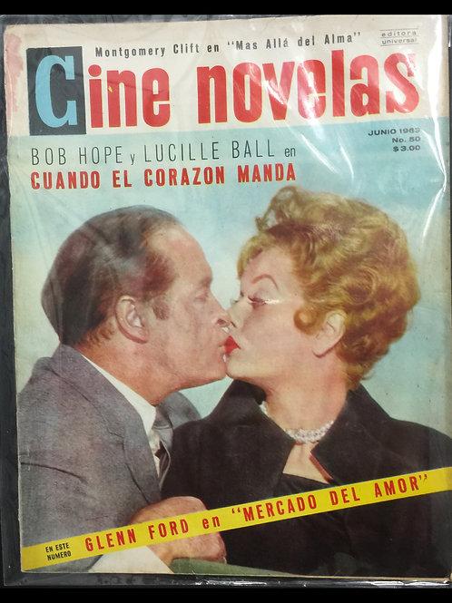 """""""Cine Novelas"""" Foreign Magazine 1963"""