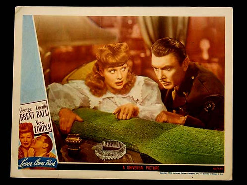 """Lover Come Back"" Lobby Card"
