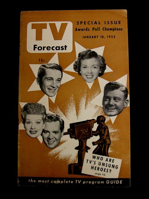 TV Forecast 1953
