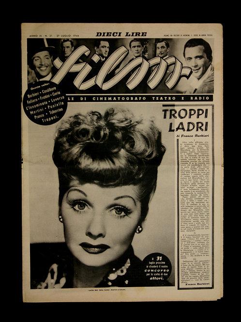 """""""Film"""" Italian Magazine 1946"""