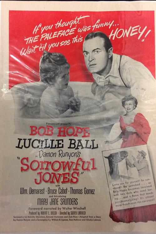 Sorrowful Jones Movie Advertisement