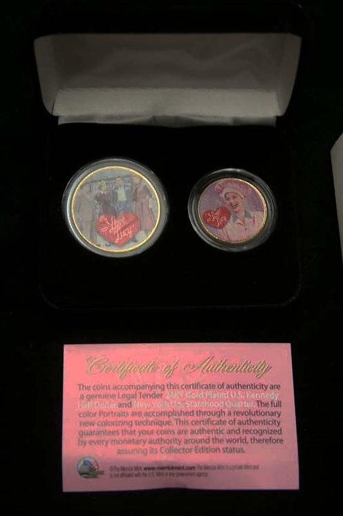 Lucille Ball Collector Coin Set