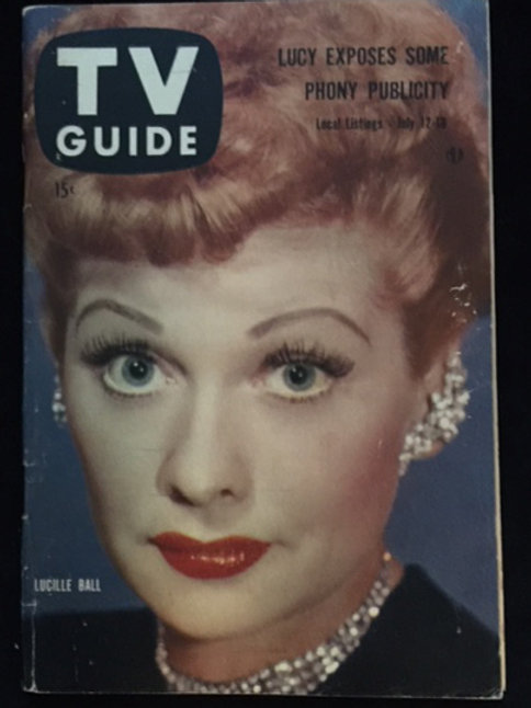"""TV Guide """"Lucy Exposes Some Phony Publicity"""""""