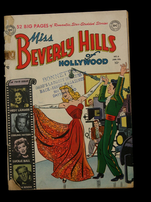 Miss Beverly Hills of Hollywood Comic Book