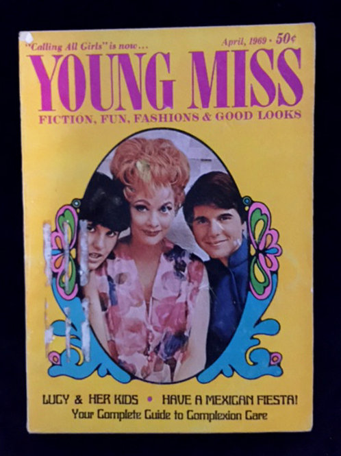 Young Miss with Lucy and the kids
