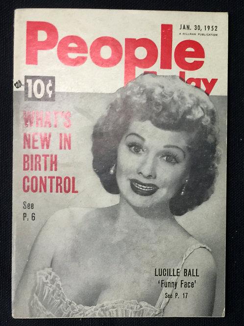 People Today Magazine 1952