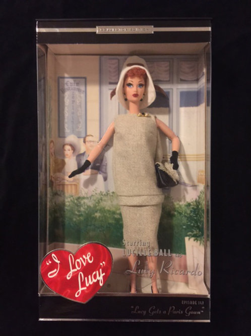 """I Love Lucy Barbie """"Lucy Gets a Paris Gown"""""""