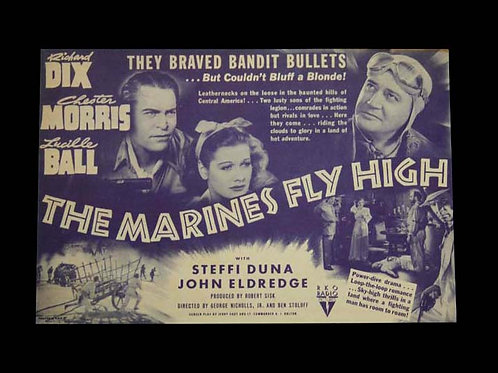 """""""The Marines Fly High"""" Movie Flyer"""