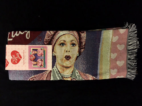 I Love Lucy Tapestry Throw Blanket