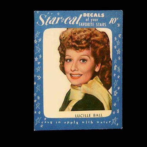 Lucille Ball Starcal Cards