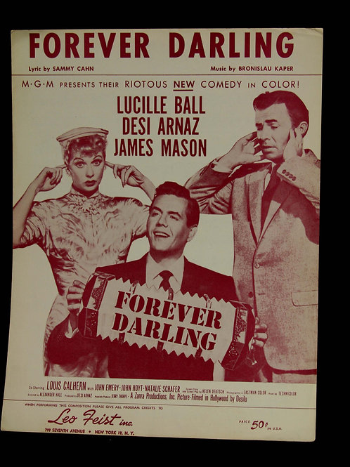 """Forever Darling"" Sheetmusic"