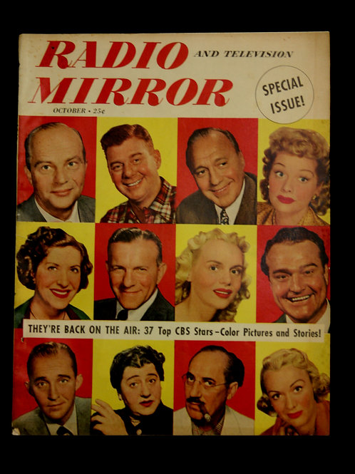 Radio and Television Mirror 1949