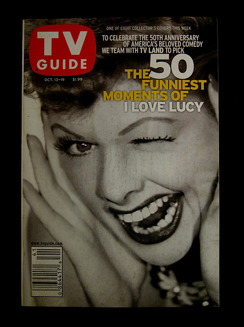 TV Guide: 50 Funniest Moments of I Love Lucy