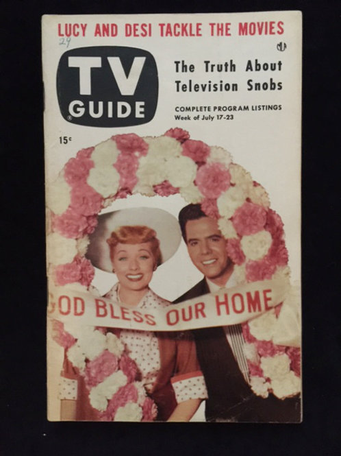"TV Guide ""God Bless Our Home"""