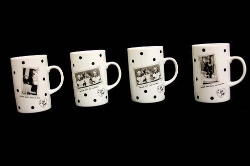 Nick At Nite Mug Collection Set of 4