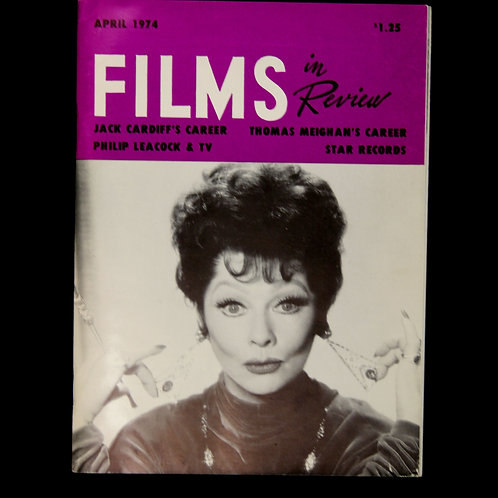 """Films in Review"" April 1974"