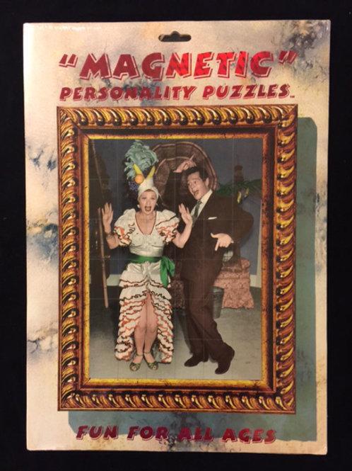 """Magnetic Puzzle - """"Carmen Miranda"""""""