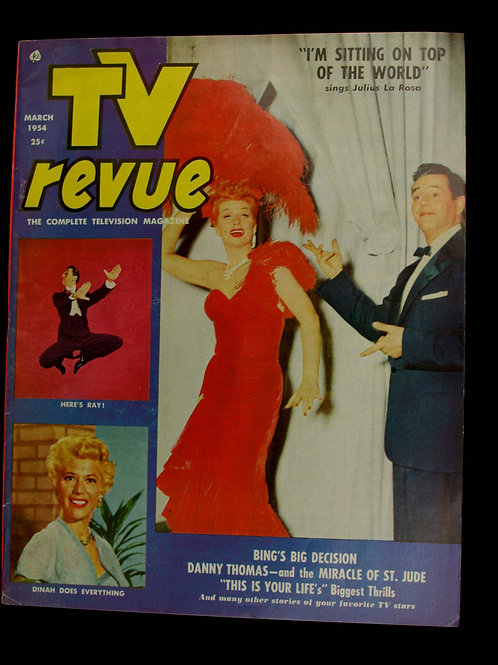 TV Revue March 1954