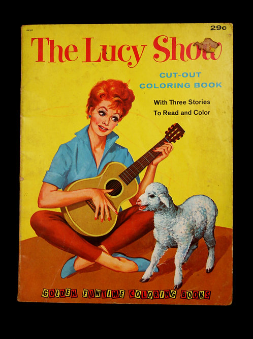 The Lucy Show Cut Out Coloring Book