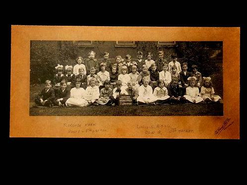 Lucille Ball Childhood School Yard Photograph