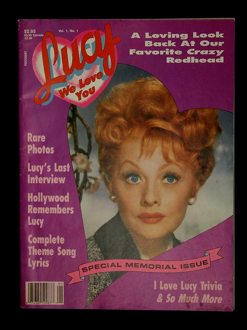 Lucy We Love You Magazine 1989