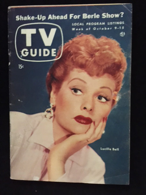 TV Guide Lucille Ball