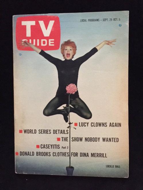 TV Guide: Lucy Clowns Again