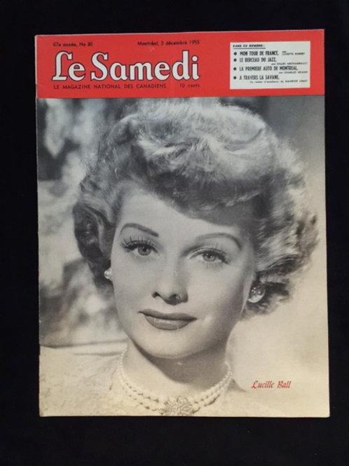 Le Samedi Foreign Magazine 1955