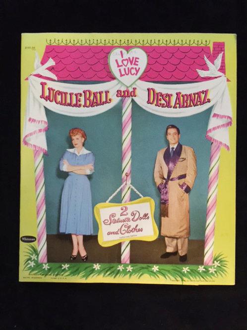 I Love Lucy Statuette Dolls 1953