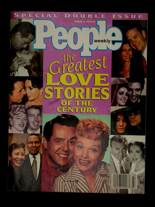 People Magazine The Greatest Love Stories 1996