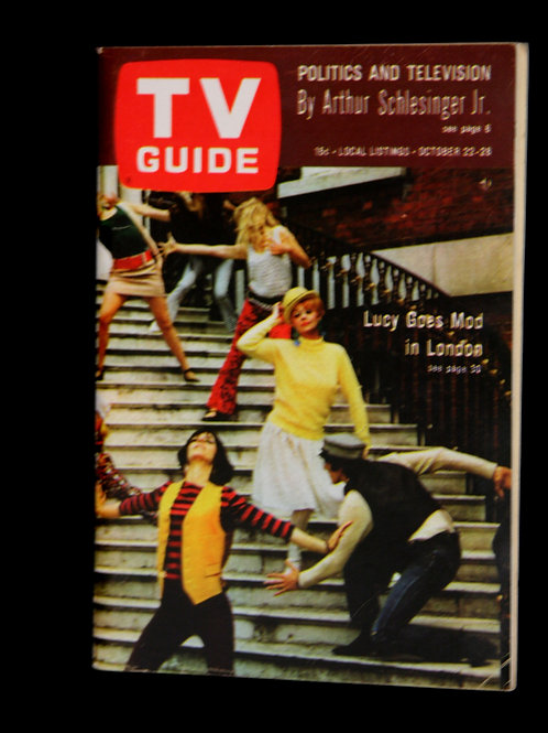 TV Guide: Lucy Goes Mod In London