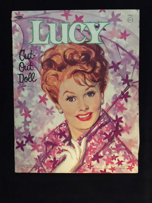 Lucy Cut Out Doll 1964
