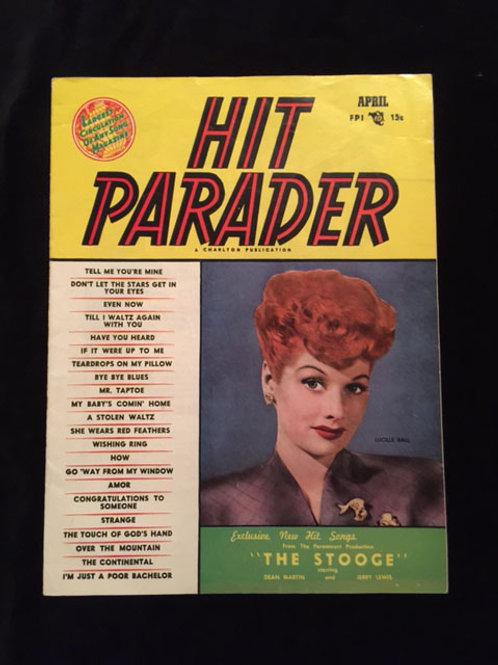Hit Parader Magazine April 1953