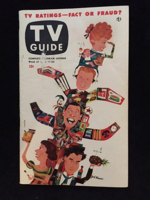 "TV Guide ""Ratings Cartoon"""