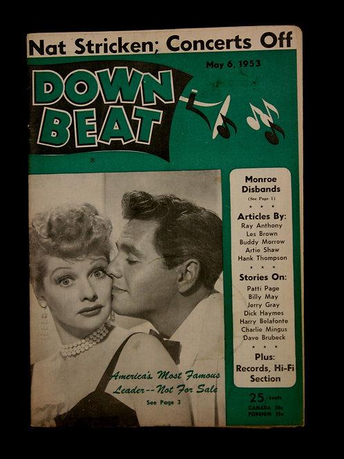 Down Beat Magazine 1953