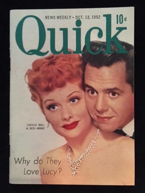 Quick Magazine: Lucy and Desi Arnaz