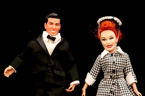 Lucy and Desi Action Figures Set