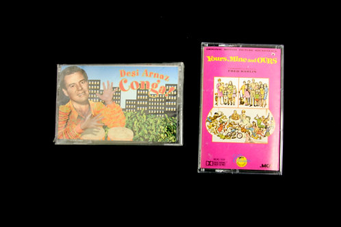 Desi Arnaz Conga & Yours, Mine and Ours Cassettes