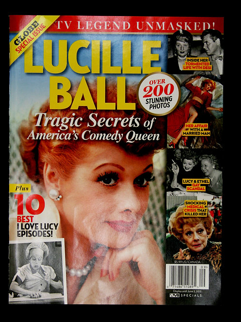 """Globe"": Lucille Ball Tribute Magazine 2013"