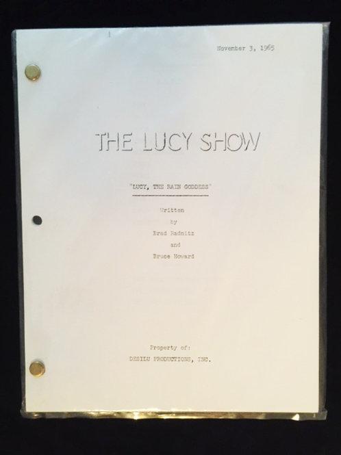 """""""Lucy Meets The Berles"""" Script"""