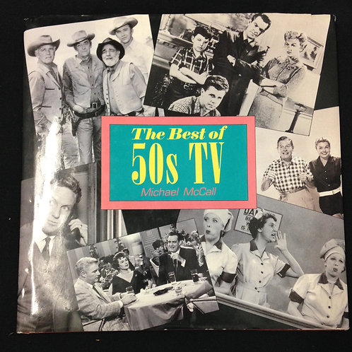 """""""The Best of 50's TV"""" Coffee Table Book"""