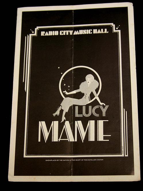 """Mame"" Playbill from Robert Preston's Estate"