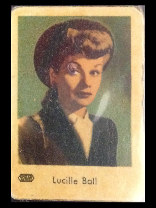 Lucille Ball Trading Card