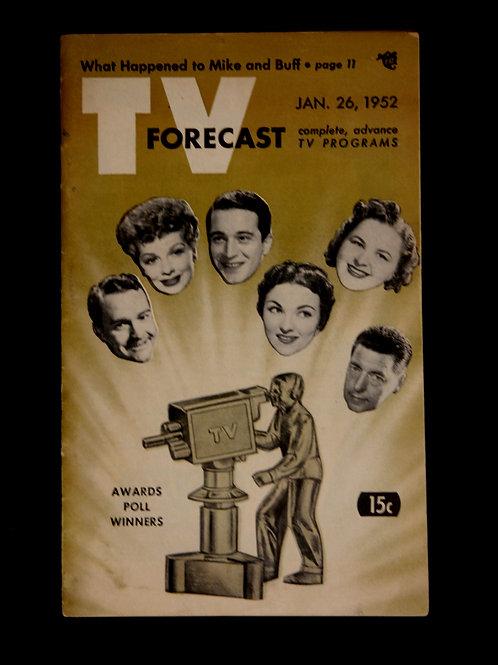 TV Forecast January 1952